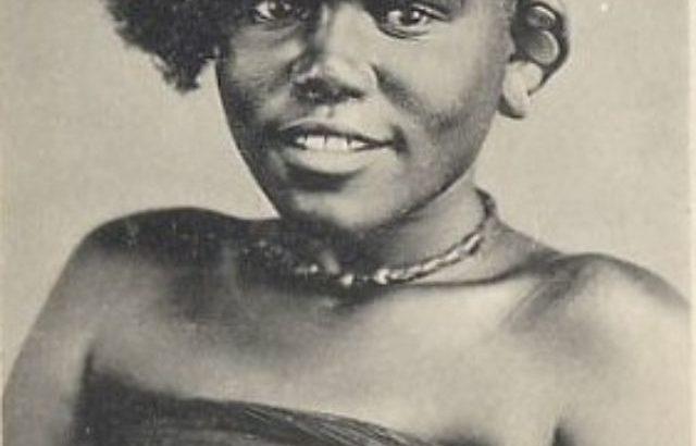 Jeune fille swahili de Zanzibar